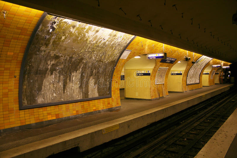 Metrostation stockbilder