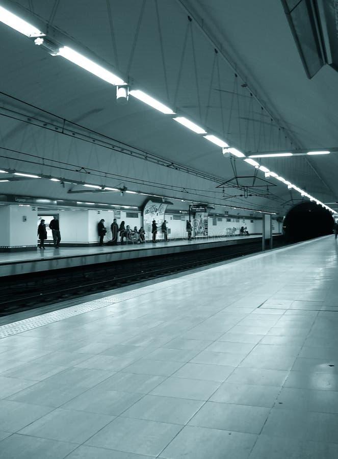 metrostation royaltyfria foton