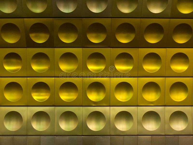 Metrostation i Prague royaltyfria foton