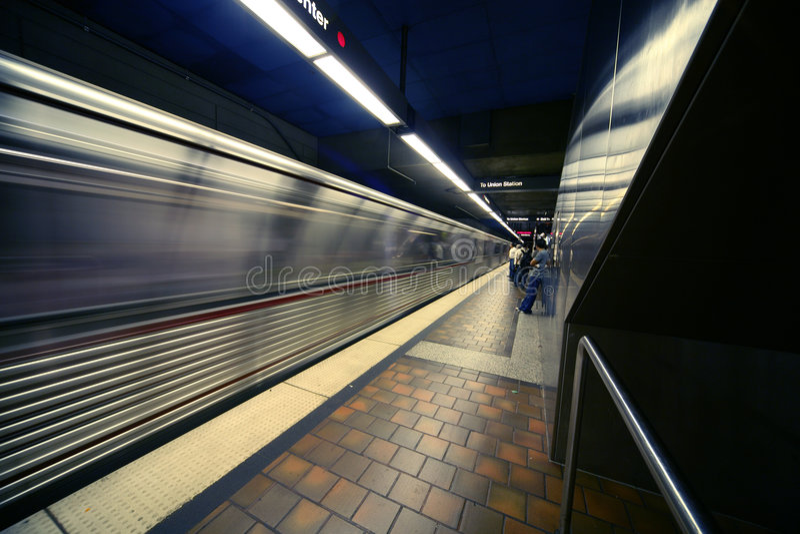 metrotrain стоковое фото