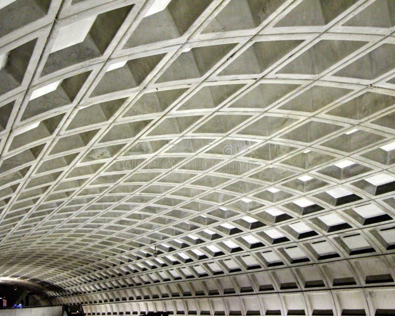 Metrovierkanten stock fotografie