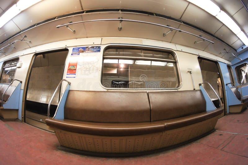 Metrowagen lizenzfreies stockbild