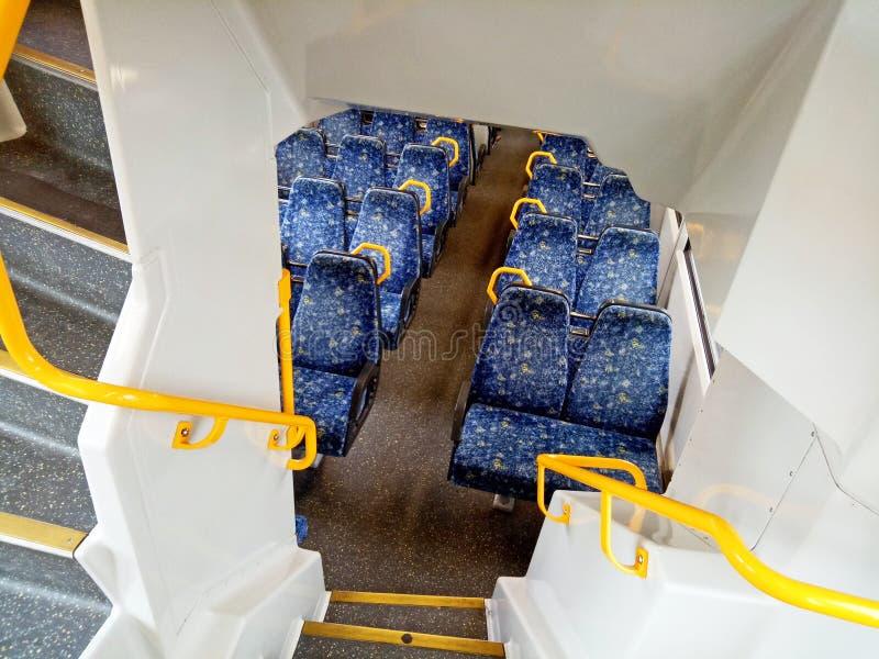 Metrozuginnenraum stockbilder