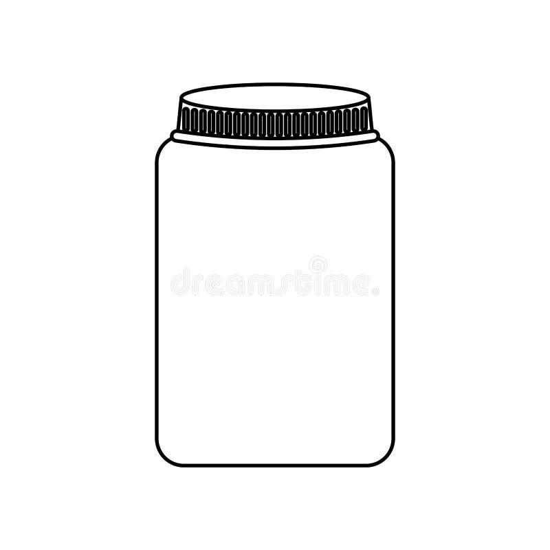 metselaarkruik geïsoleerd pictogram vector illustratie