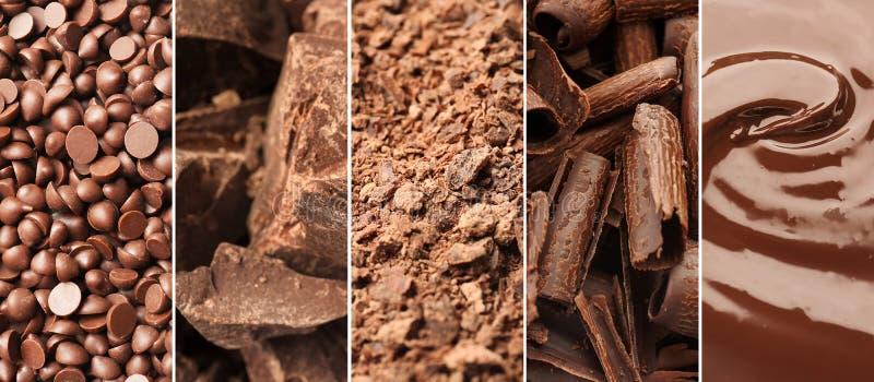Metta con cioccolato delizioso fotografie stock