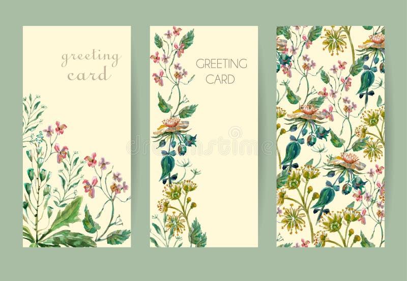 Download Metta la carta dei fiori illustrazione vettoriale. Illustrazione di floreale - 55358274