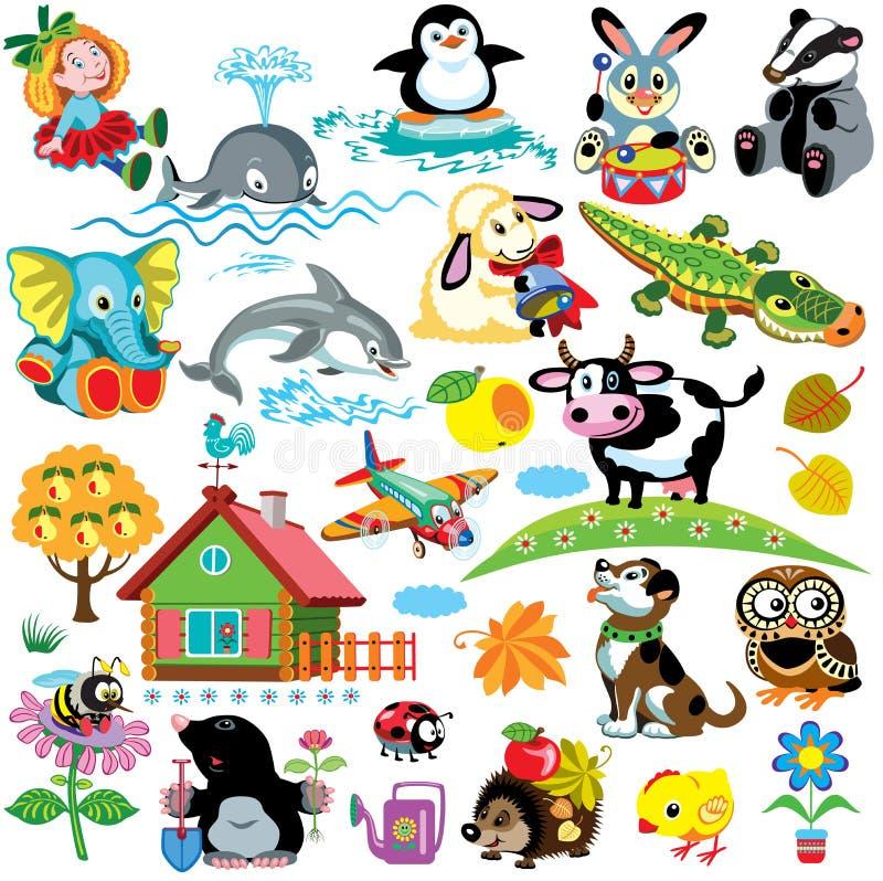 Metta per i bambini illustrazione vettoriale