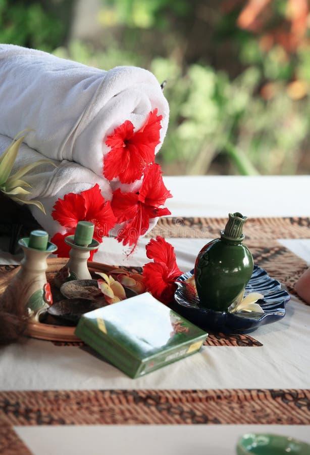 Metta per il massaggio fotografia stock libera da diritti
