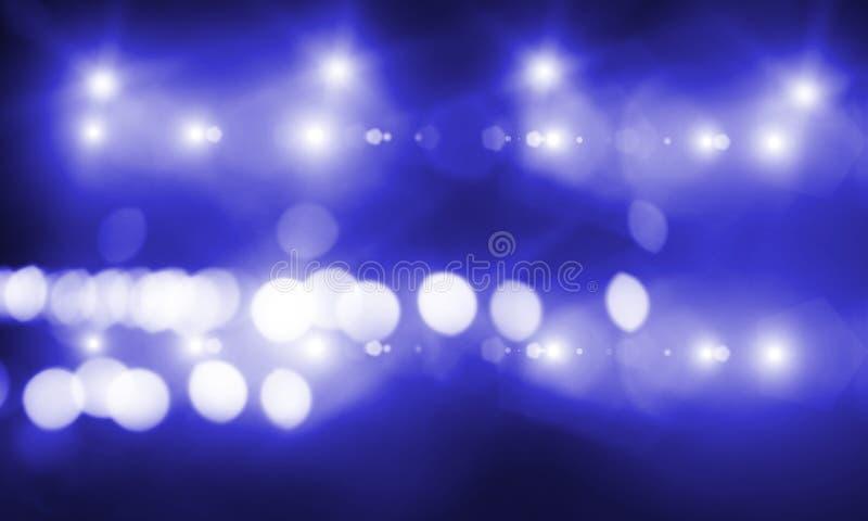 Metta in scena gli indicatori luminosi fotografia stock libera da diritti