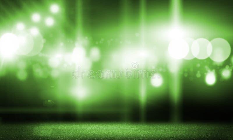 Metta in scena gli indicatori luminosi immagine stock