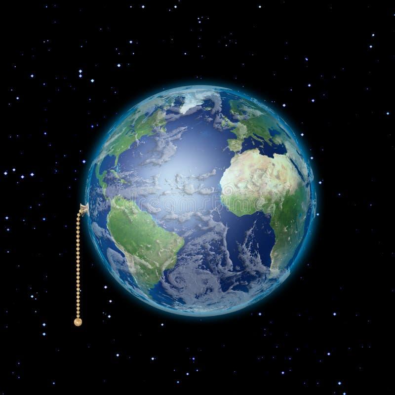 Mettez à la terre le commutateur illustration libre de droits