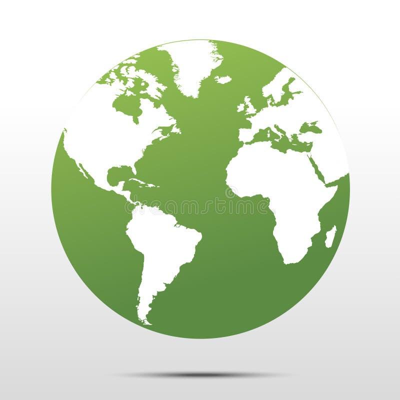 mettez à la terre le vert illustration libre de droits