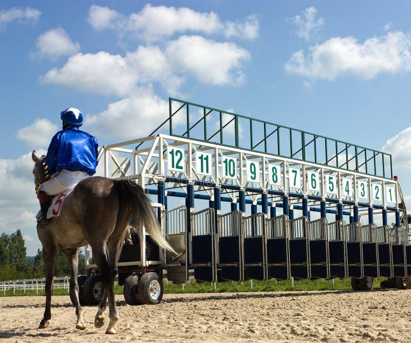 Mettez en marche les portes pour des chemins de cheval. photographie stock