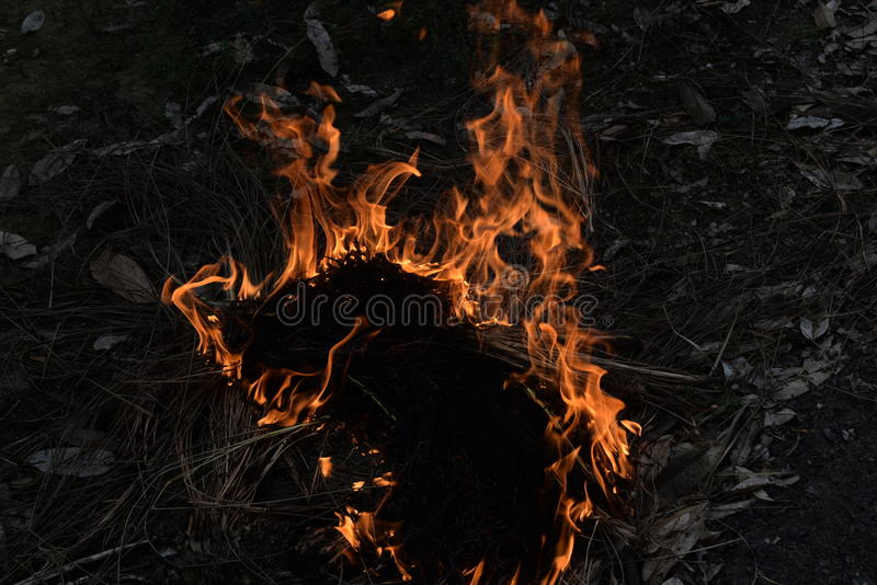Mettez le feu  photographie stock libre de droits