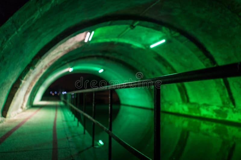 Metz canal defocus royalty free stock image