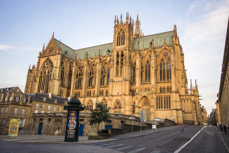 Metz, Francia fotografia stock
