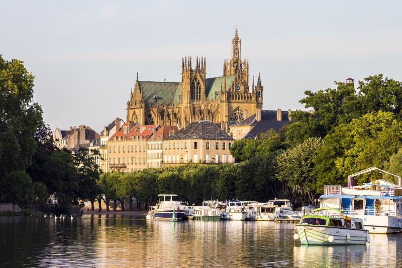 Metz, Francja zdjęcie royalty free