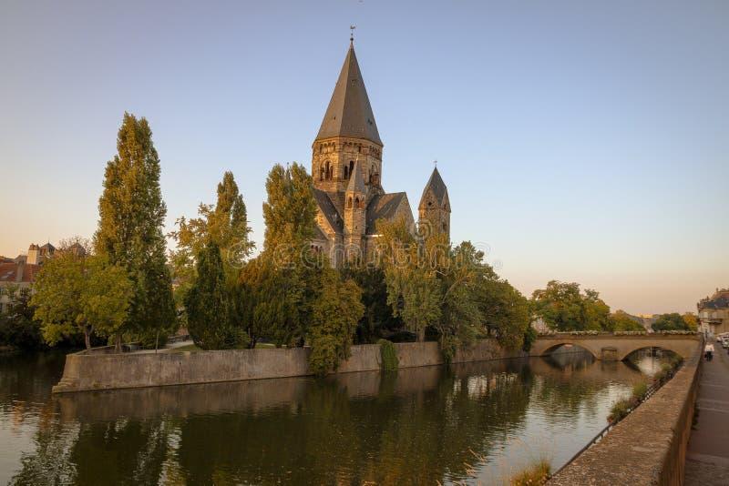 Metz, Frankrijk royalty-vrije stock foto's