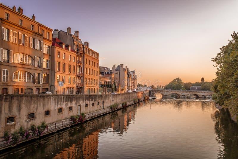 Metz, Frankrijk stock fotografie