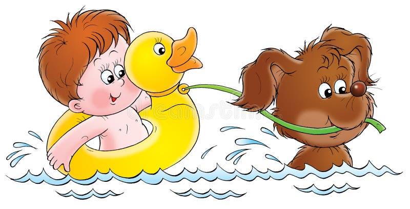Meu cão 020 ilustração royalty free