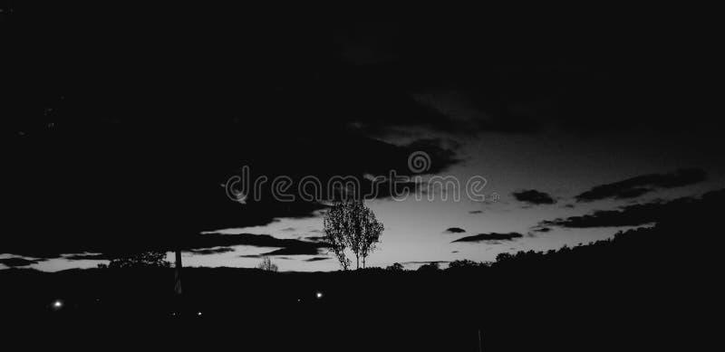 Meu céu noturno ideal imagem de stock royalty free