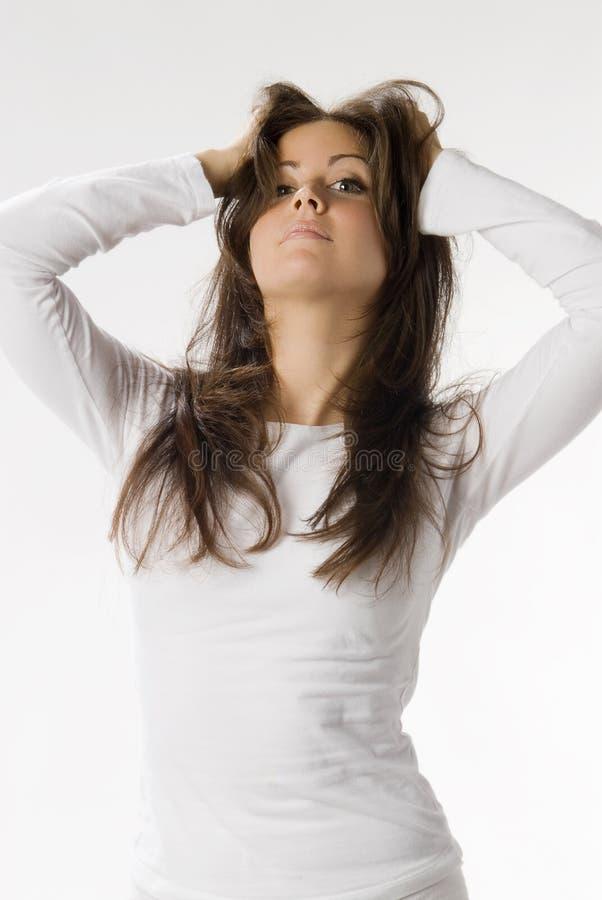 Meu cabelo foto de stock royalty free