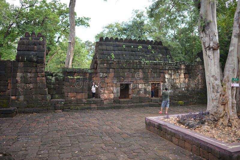 Meuang zingt Historisch Park, Thailand royalty-vrije stock foto