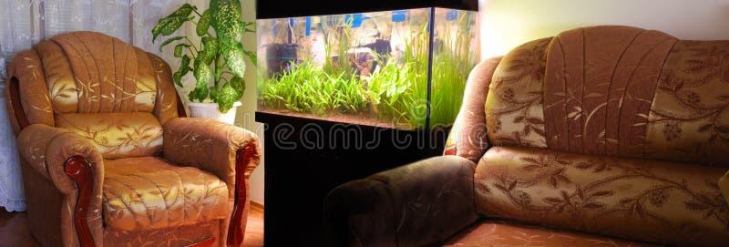 meubles d'aquarium photos stock