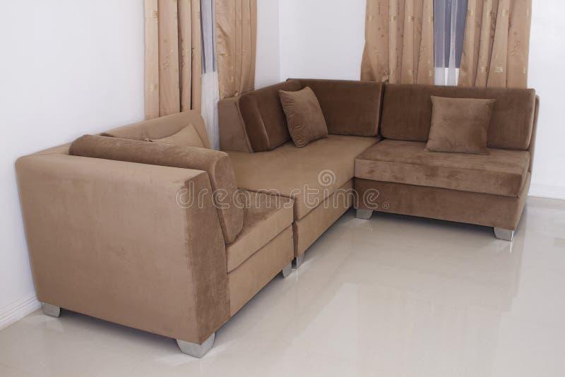 Meubles de sofa photographie stock libre de droits