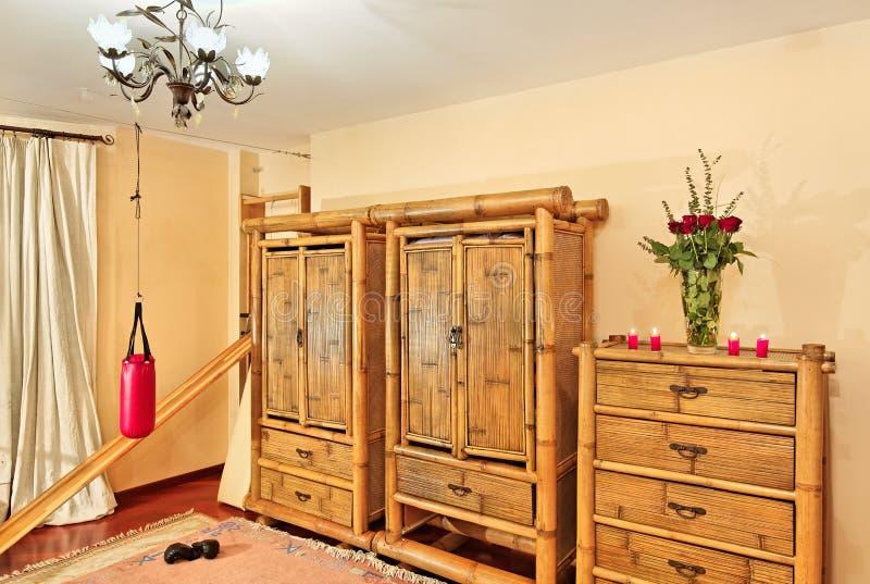 meubles en bambou ethniques images stock image 15202574. Black Bedroom Furniture Sets. Home Design Ideas