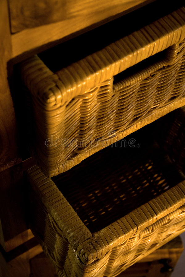 Meubles en bois photo libre de droits