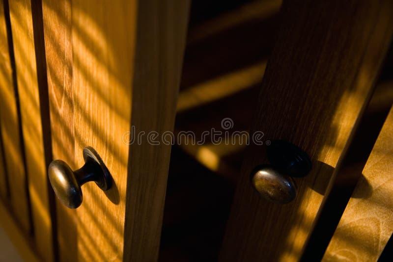 Meubles en bois photographie stock libre de droits