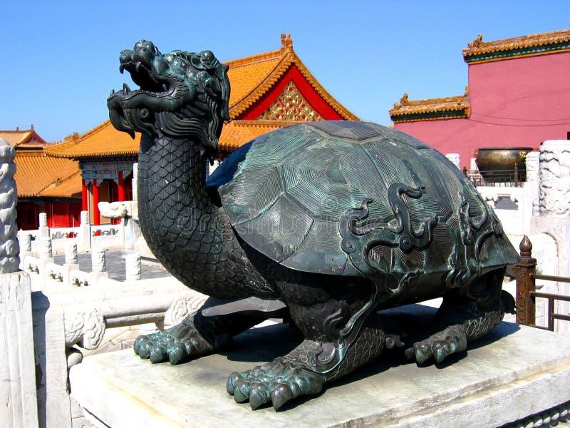 Meubles traditionnels chinois - le musée de palais photos libres de droits
