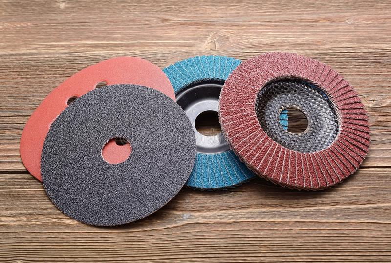 Meules abrasives images stock