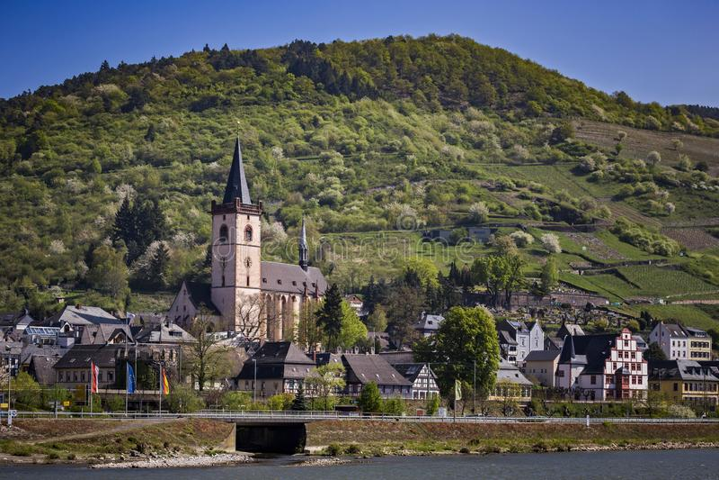 Meurent Stadt Lorch AM Rhein photos libres de droits