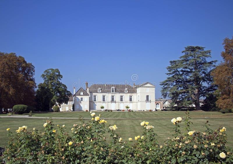 Meursault do castelo fotografia de stock royalty free