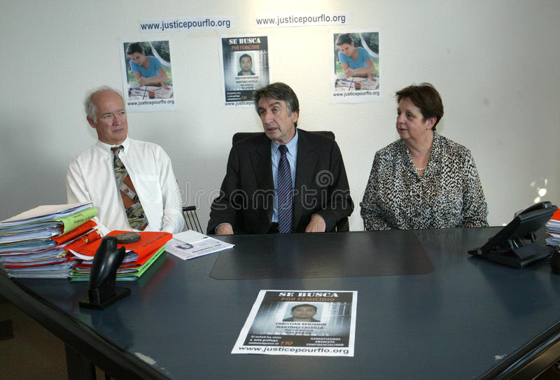 Meurtre de Florence Denefle au Guatemala image stock