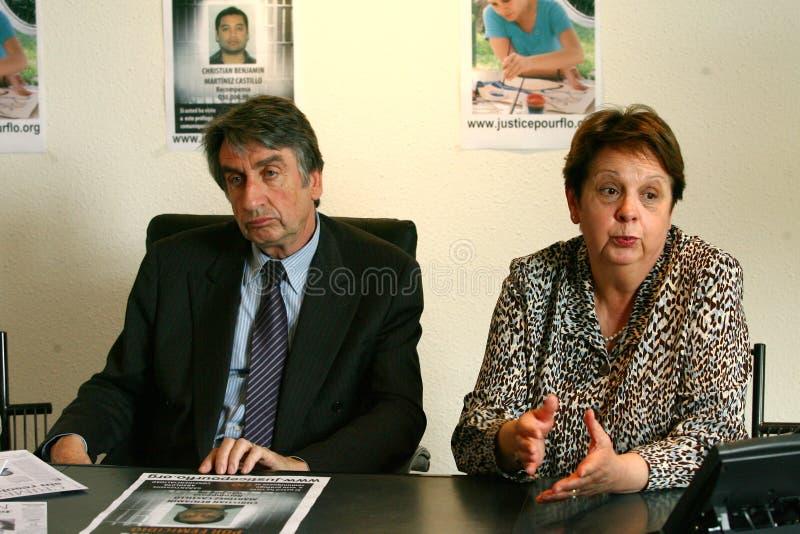 Meurtre de Florence Denefle au Guatemala images stock