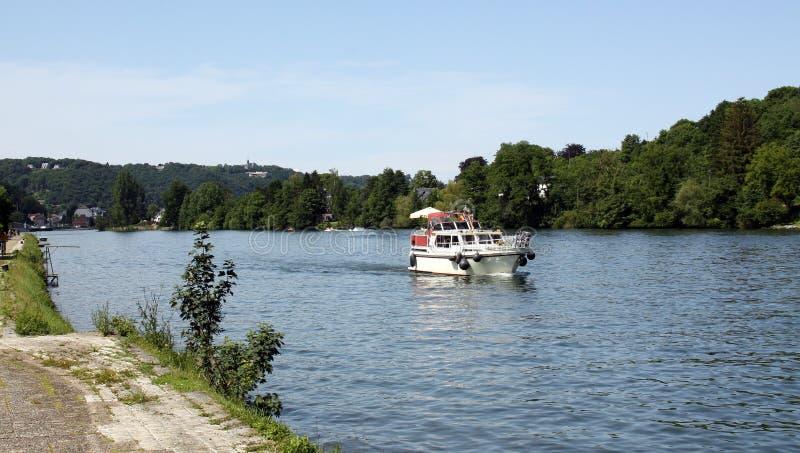 The Meuse at Namur stock photo