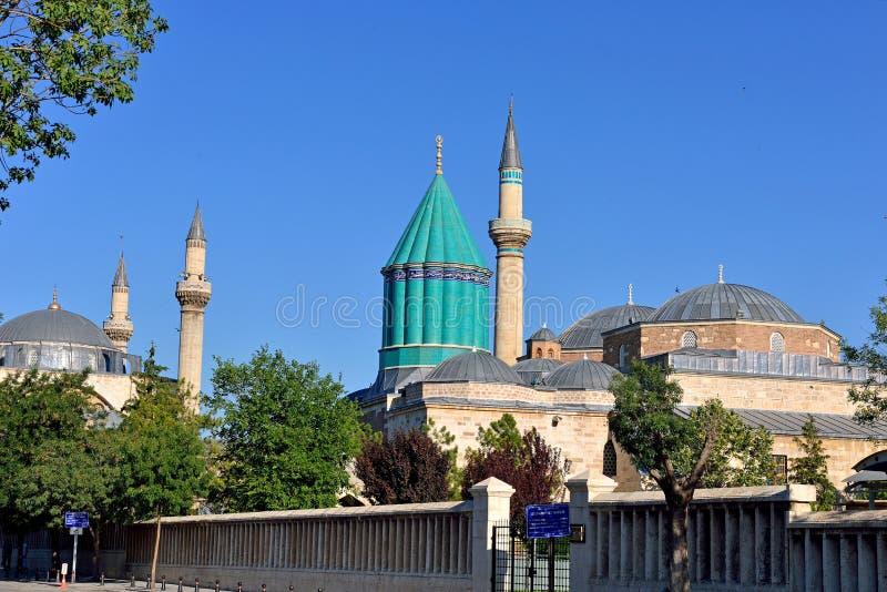 Mevlana - centro do sufi em Konya foto de stock royalty free