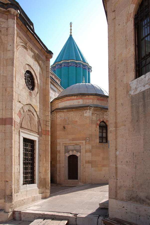 mevlana meczetu muzeum obrazy stock