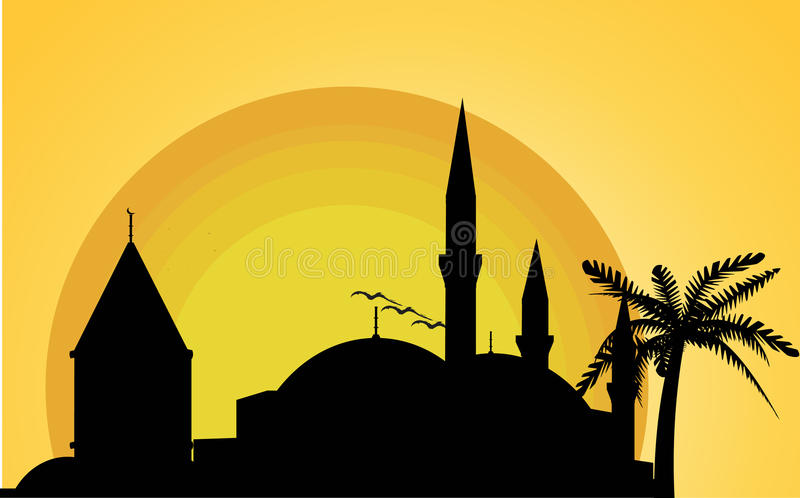 Download Mevlana Museum And Selimye Mosque Stock Vector - Illustration: 12770543