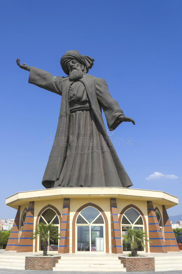 Mevlana Rumi zdjęcie stock