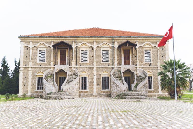 Mevlevi Lodge at Gelibolu, Canakkale. Ottoman building stock images