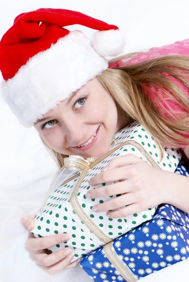 Mevr. de Kerstman stock foto's