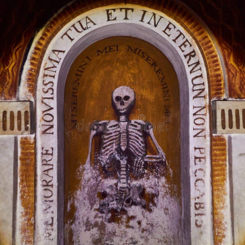 Mevrouw Death in Venetië stock fotografie
