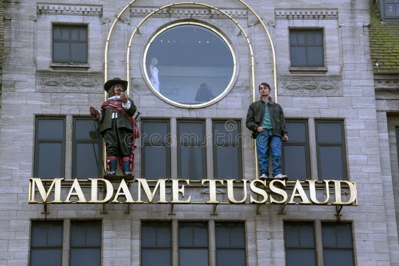 Mevrouw Tussaud Amsterdam royalty-vrije stock fotografie