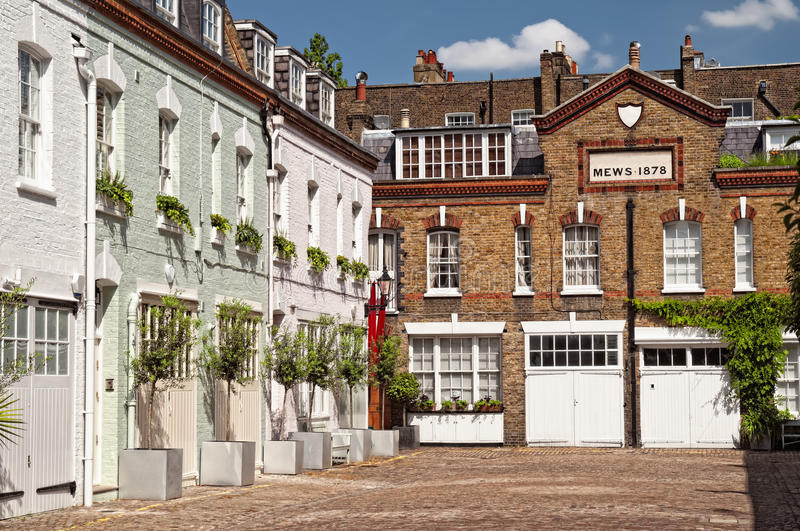 Download Mews in London. stock photo. Image of culture, hidden - 15964316