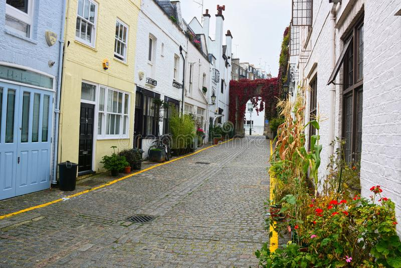 Mews terraced σπίτια r UK στοκ φωτογραφίες με δικαίωμα ελεύθερης χρήσης