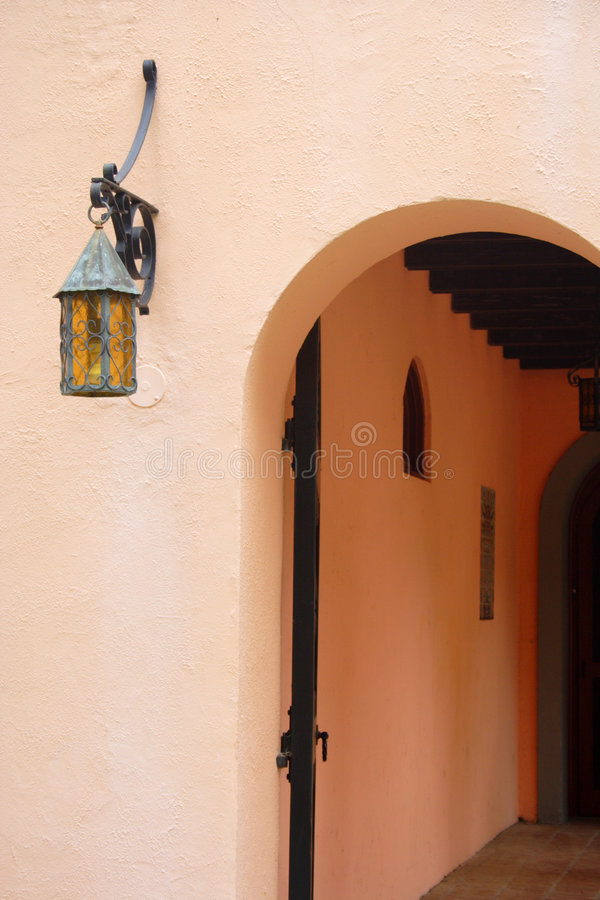 Mexicaans huis stock afbeelding